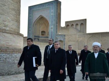 Concept of further development of tourism in Bukhara has been presented