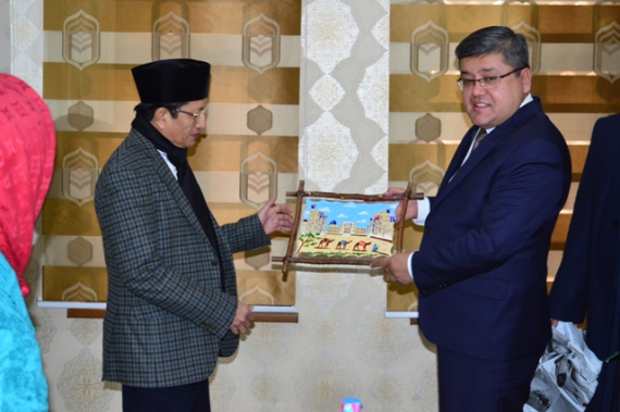 Индонезия Президентининг дин ишлари бўйича маслаҳатчиси мамлакатимизга келди