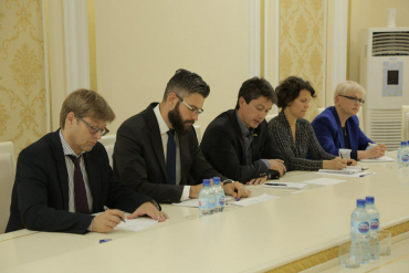 German delegation visited Muslim Board of Uzbekistan