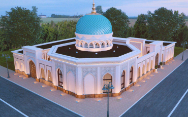 "First brick was laid for the ""Norkhodja – the son of Valikhodja"" grand mosque"