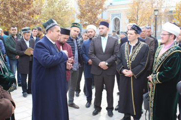 The ulemas (religious scientists) from Tatarstan are very happy.