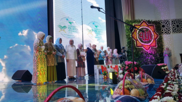 Female winners of Uzbekistan Qur'an Competition 2018