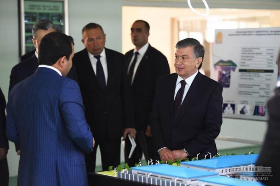 Президент Жиззах вилоятида