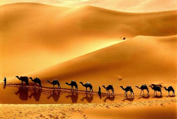 IВеликий шёлковый путь: почему в колодцах посреди пустыни всегда была вода